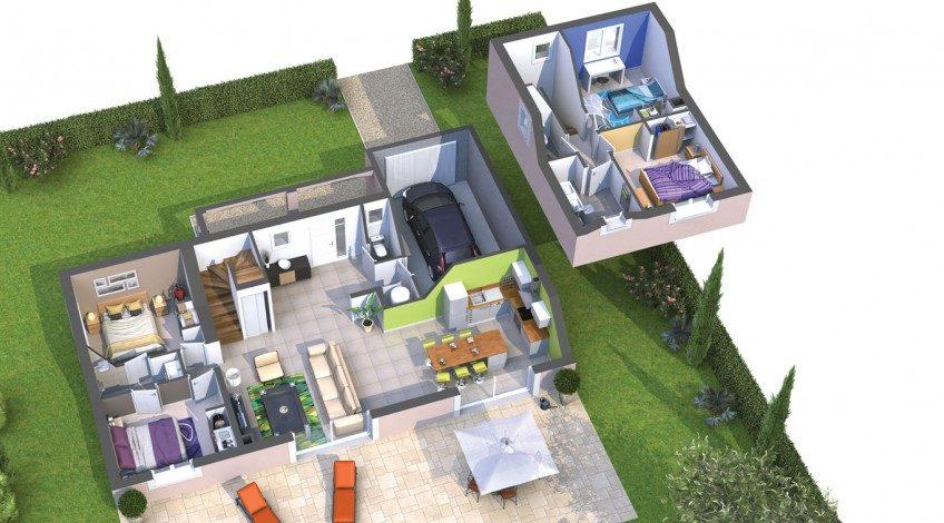 Votre maison à étage sur Gajan