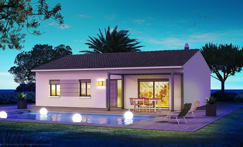 Villa à étage de 90m²